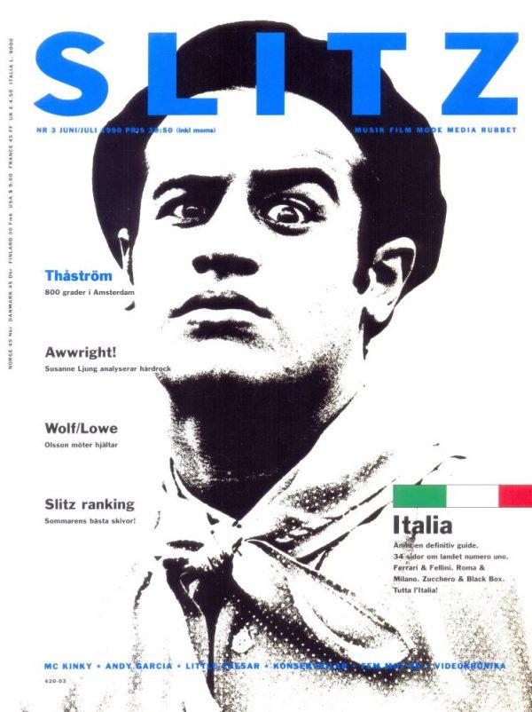 Omslaget till Slitz #1990-03