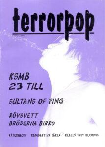 Omslaget till Terrorpop nr 03/1994