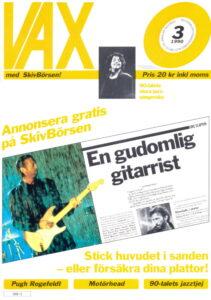 Omslaget till Vax #1990-03