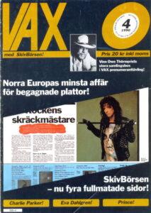Omslaget till Vax #1990-04