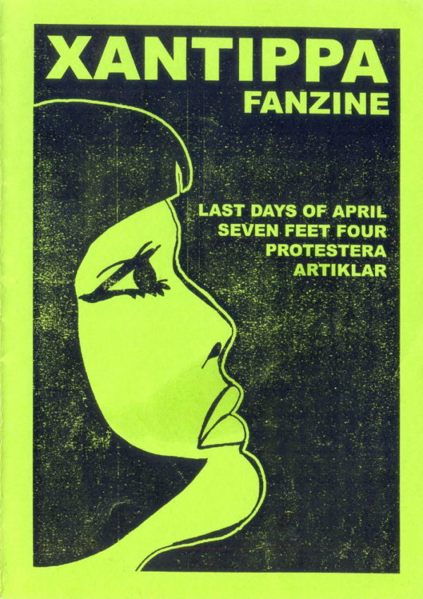 Omslaget till Xantippa #1 (2002)