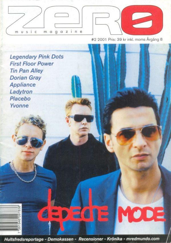 Omslaget till Zero #2001-02