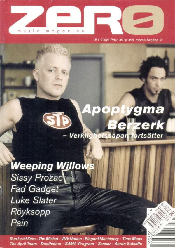 Omslaget till Zero #2002-01