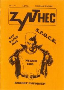 Omslaget till Zynthec #1995-02