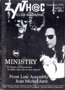Omslaget till Zynthec #1996-03