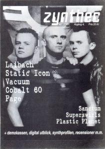 Omslaget till Zynthec #1997-01