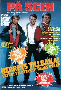Omslaget till På Scen #1986-7