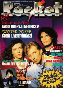 Omslaget till Rocket #1985-4