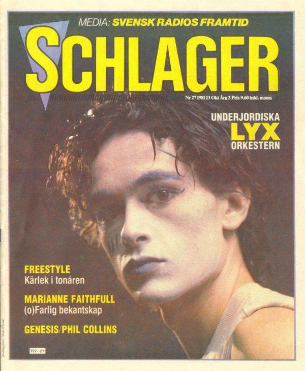 Omslaget till Schlager #027 (1981)