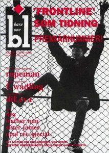 Omslaget till Base One #1989-01