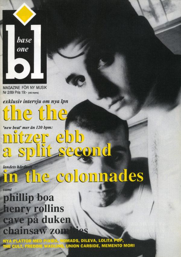Omslaget till Base One #1989-02