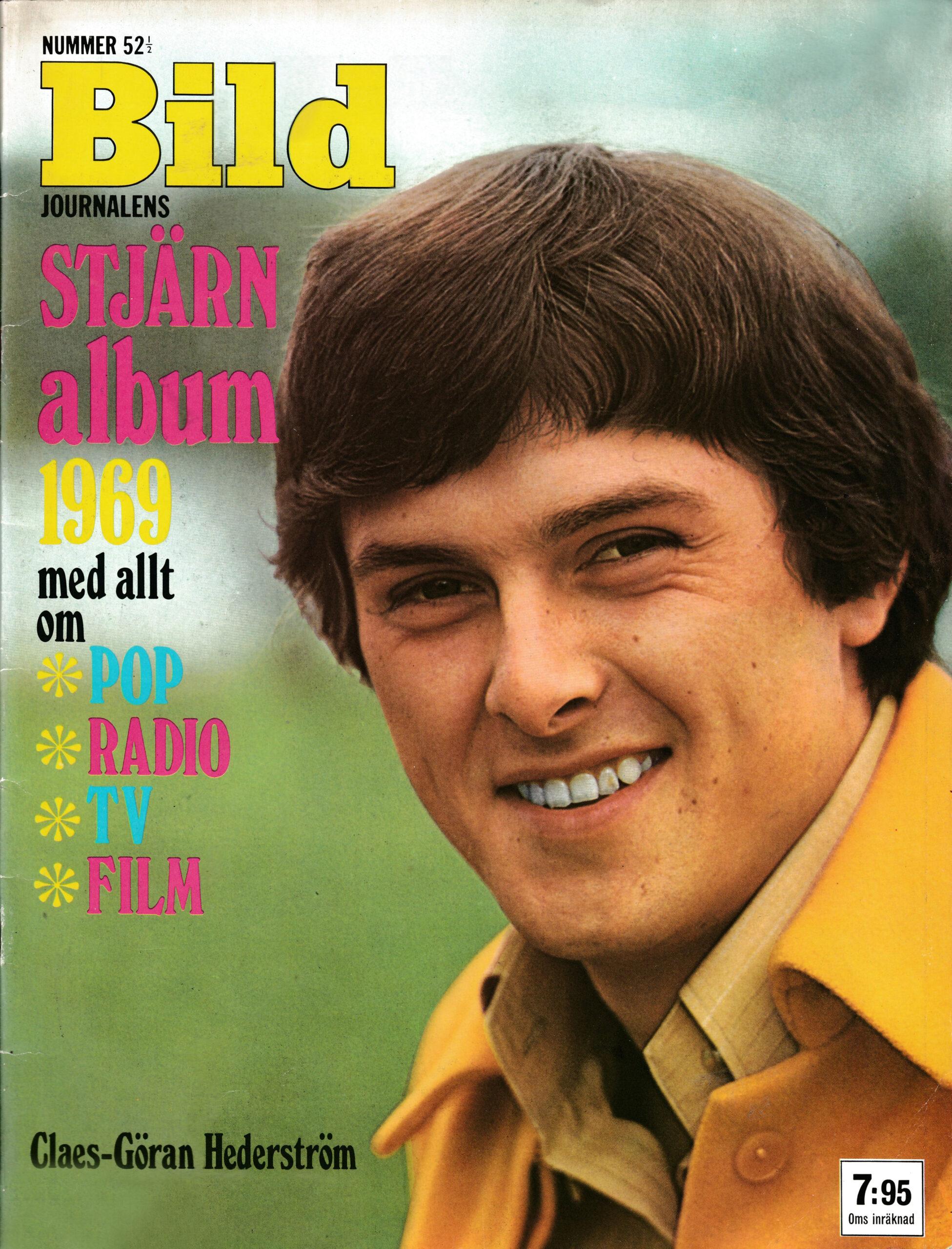 Omslaget till Bildjournalen #1968-52½ Stjärnalbum 1969