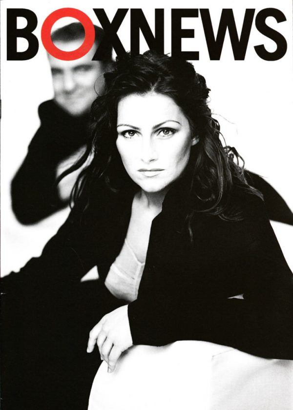 Omslaget till Boxnews #1998-1