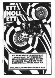 Omslaget till ettnollett #12-1989