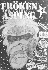 Omslaget till Fröken Äsping #4 (1985)