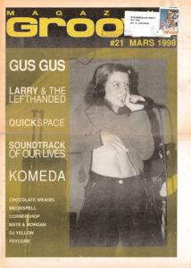 Omslaget till Groove #21-1998
