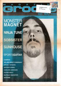 Omslaget till Groove #23-1998