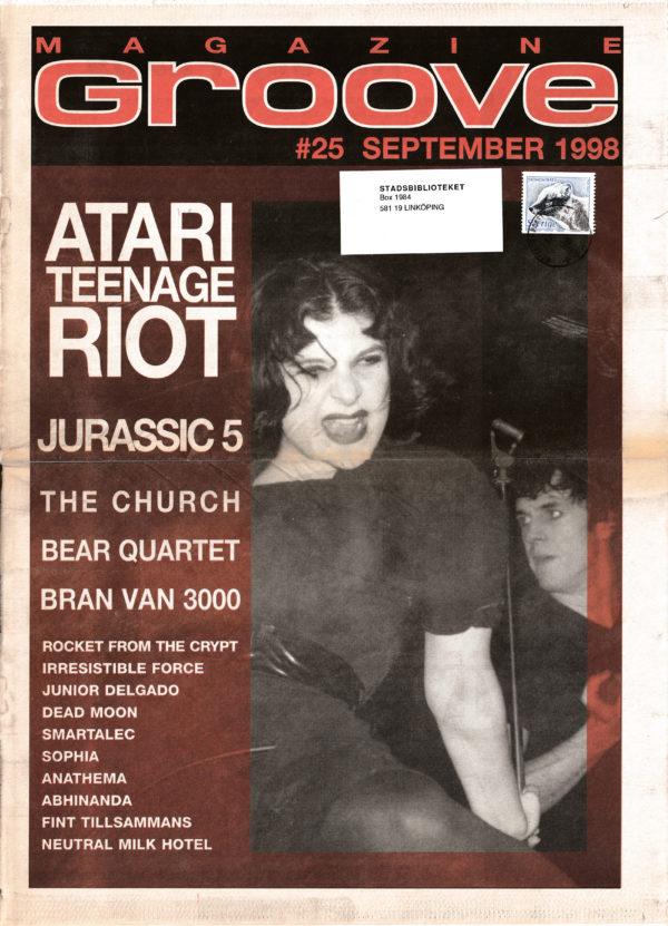 Omslaget till Groove #25-1998