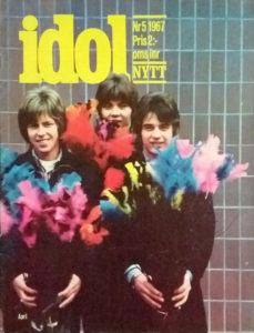 Omslaget till Idolnytt #1967-05