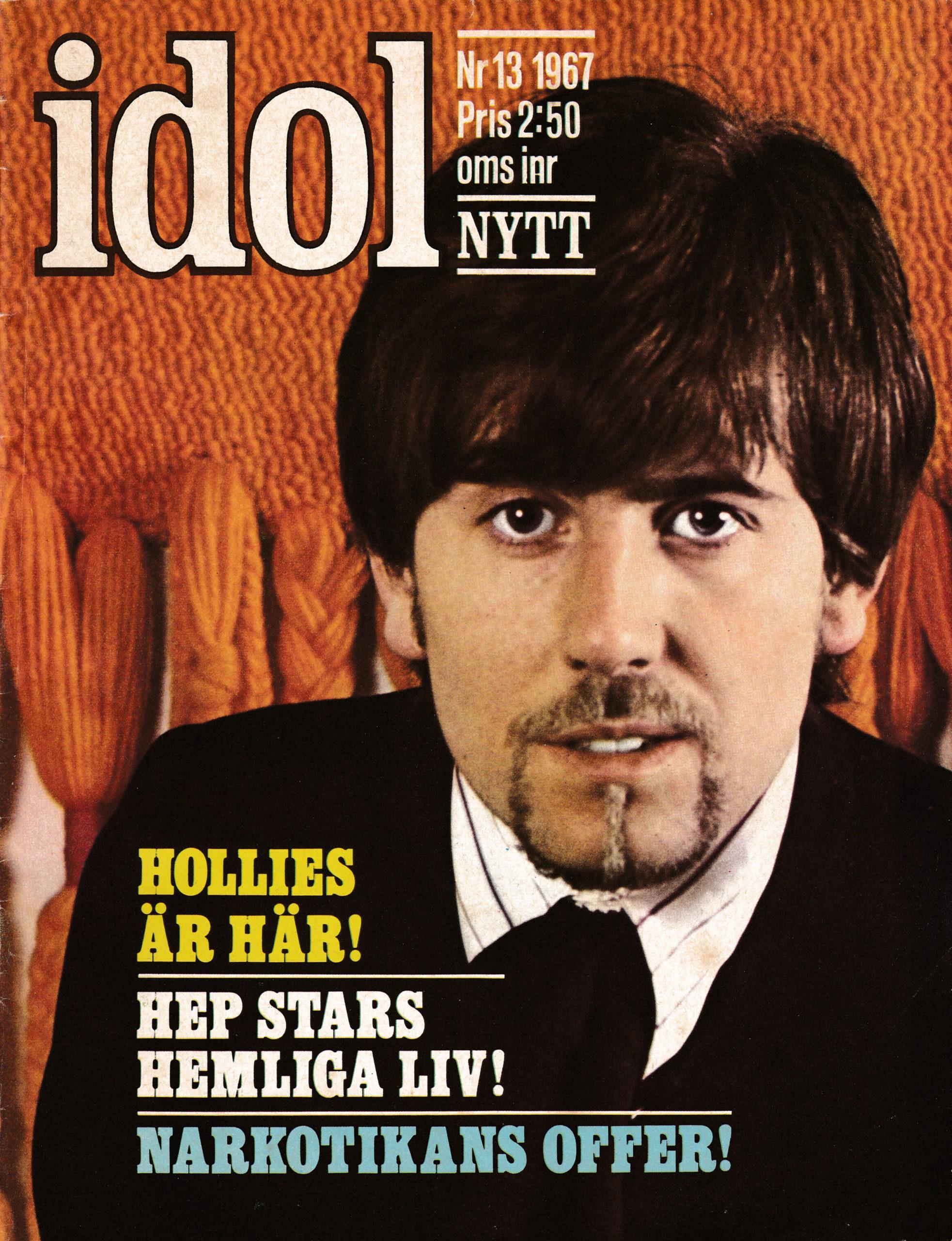 Omslaget till Idolnytt #1967-13