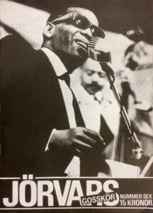 Omslaget till Jörvars Gosskör #6 (1983)