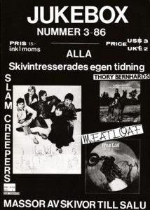 Omslaget till Jukebox #1986-3