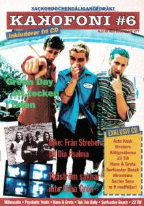Omslaget till Kakafoni #6 (1994)