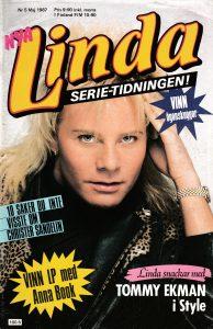Omslaget till Linda #1987-5