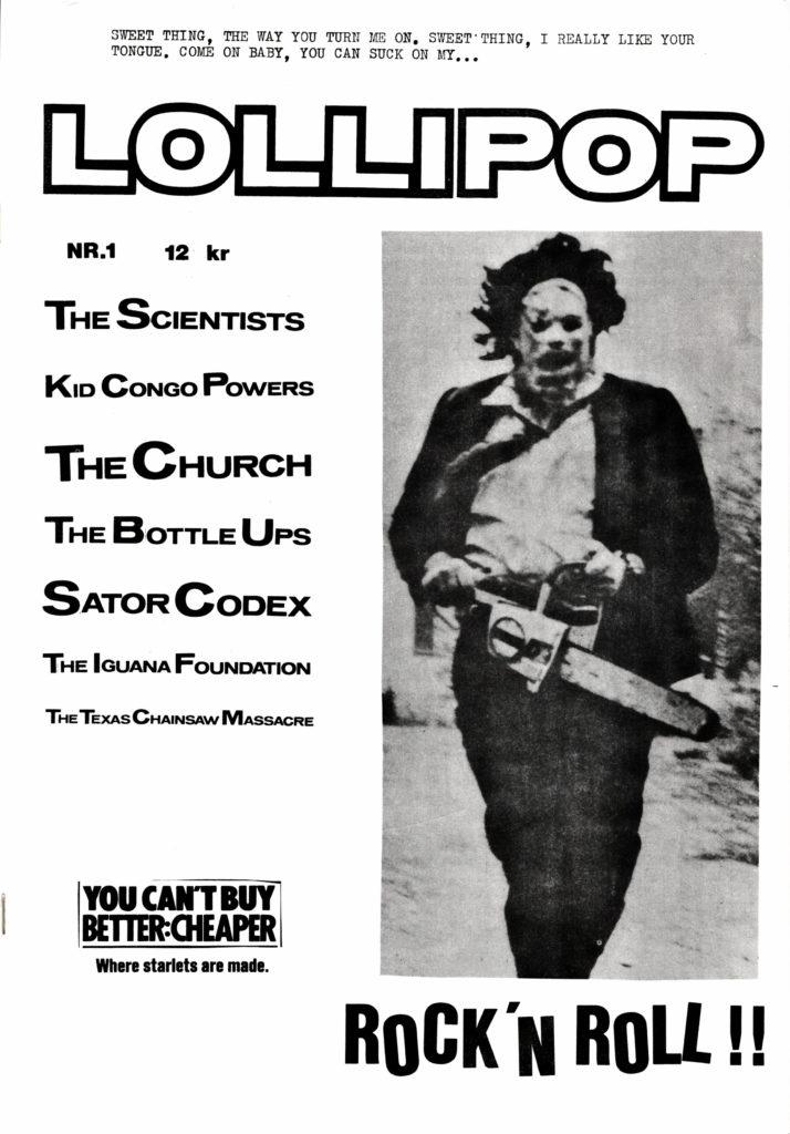 Omslaget till Lollipop #1986-01