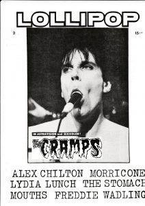 Omslaget till Lollipop #1986-02