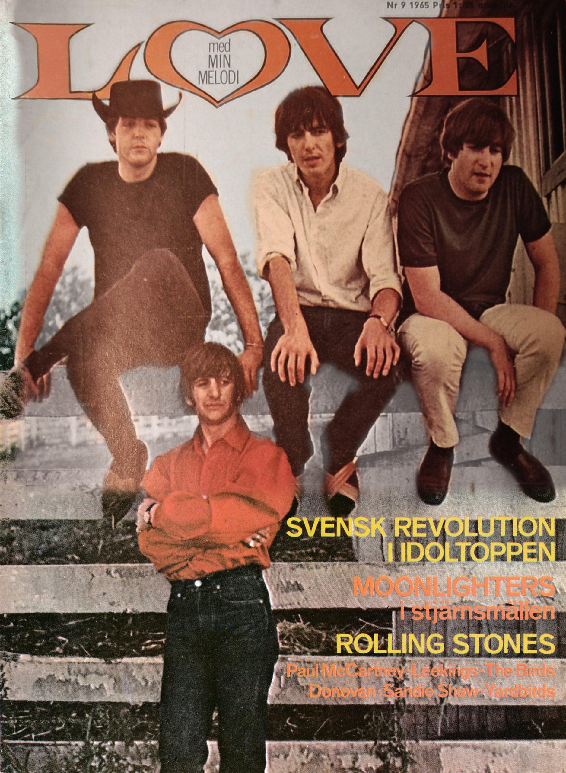 Omslaget till Love #1965-09