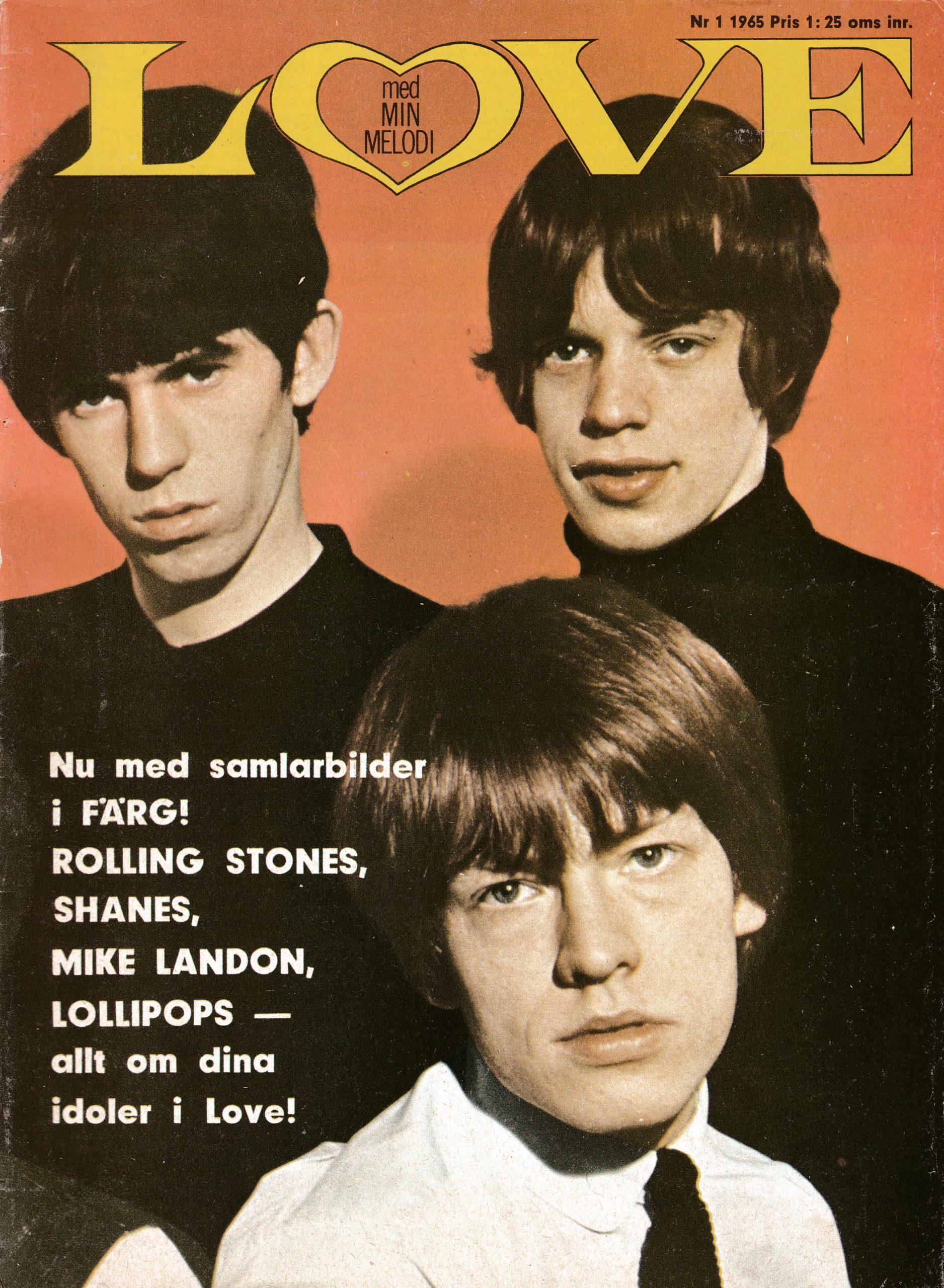 Omslaget till Love #1965-01