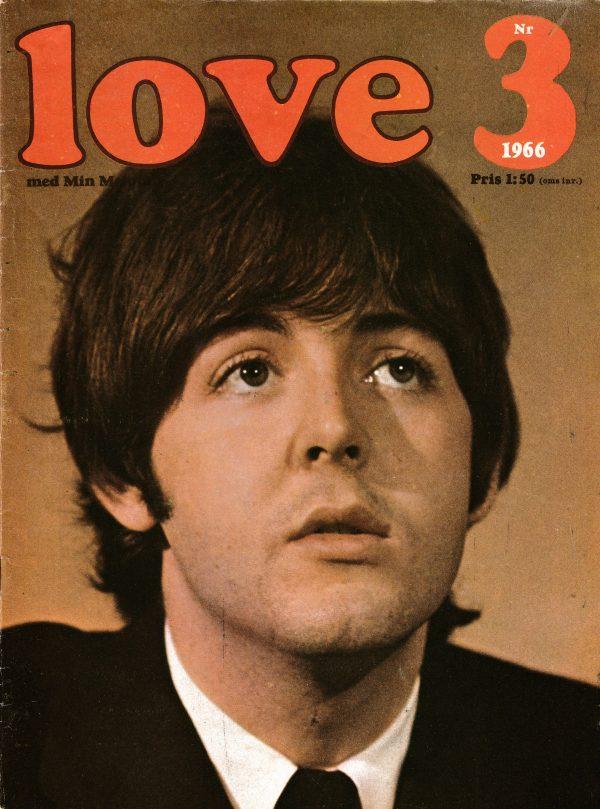 Omslaget till Love #1966-03