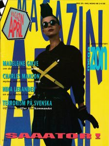 Omslaget till Magazin April #1988-03/04