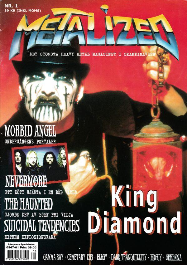 Omslaget till Metalized #1 (2000)