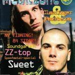 Omslaget till Metal Zone #3 (1994)
