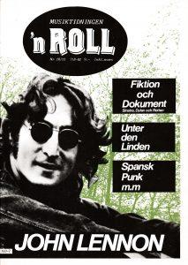 Omslaget till 'n Roll #1982-10/11