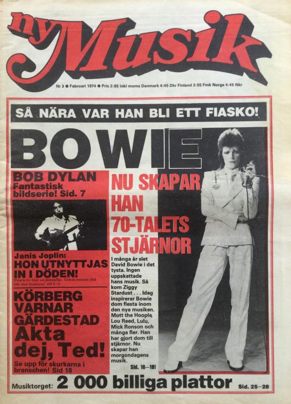 Omslaget till Ny Musik #1974-03