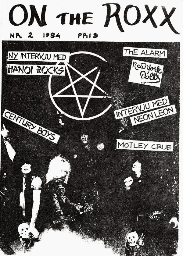Omslaget till On The Roxx #1984-2