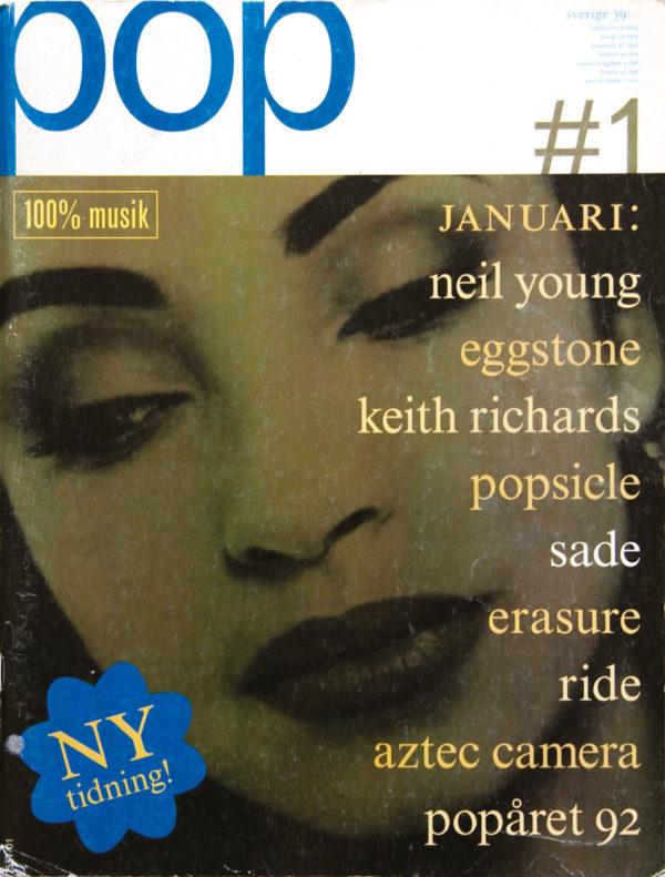 Omslaget till Pop #01 (1992)