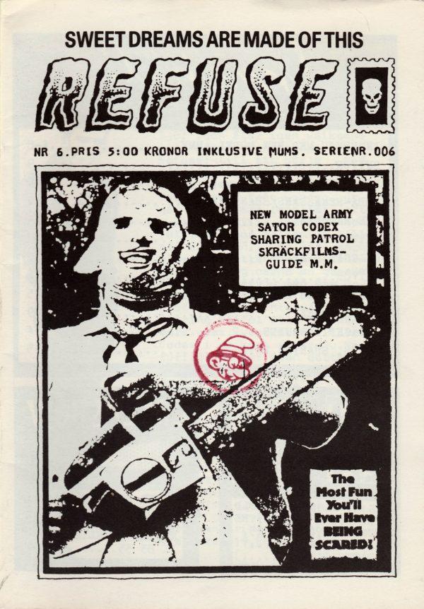 Omslaget till Refuse #1987-6