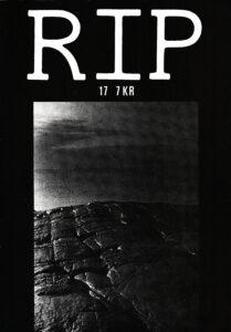 Omslaget till RIP #17 (1981)