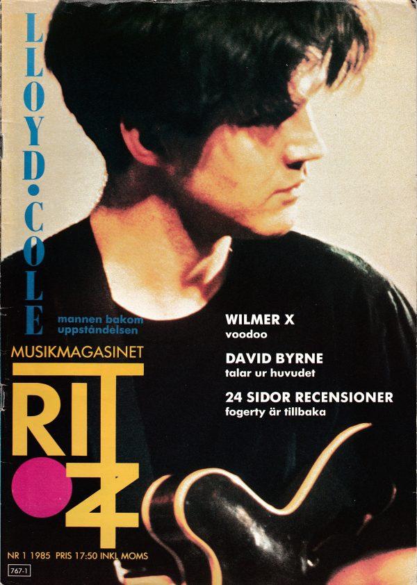 Omslaget till Ritz #1985-01