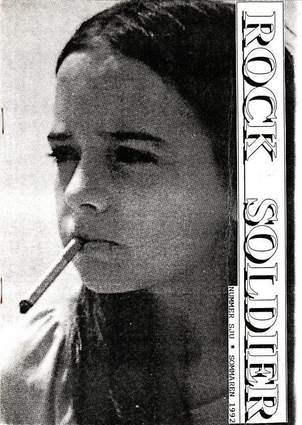 Omslaget till Rock Soldier #1992-7