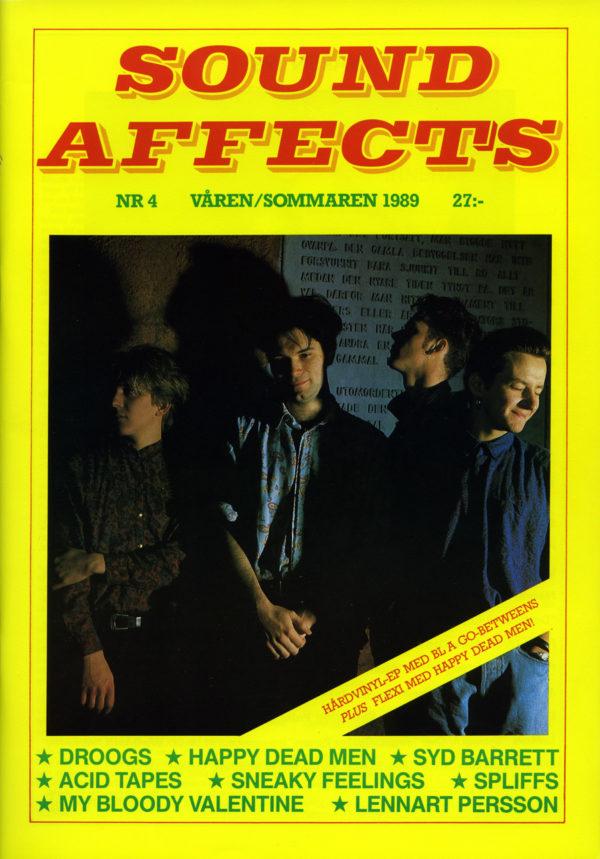 Omslaget till Sound Affects #04 (1989)