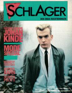 Omslaget till Schlager #054 (1982)