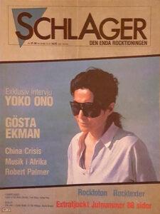 Omslaget till Schlager #057/058 (1982)