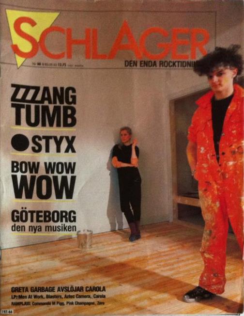 Omslaget till Schlager #066 (1983)