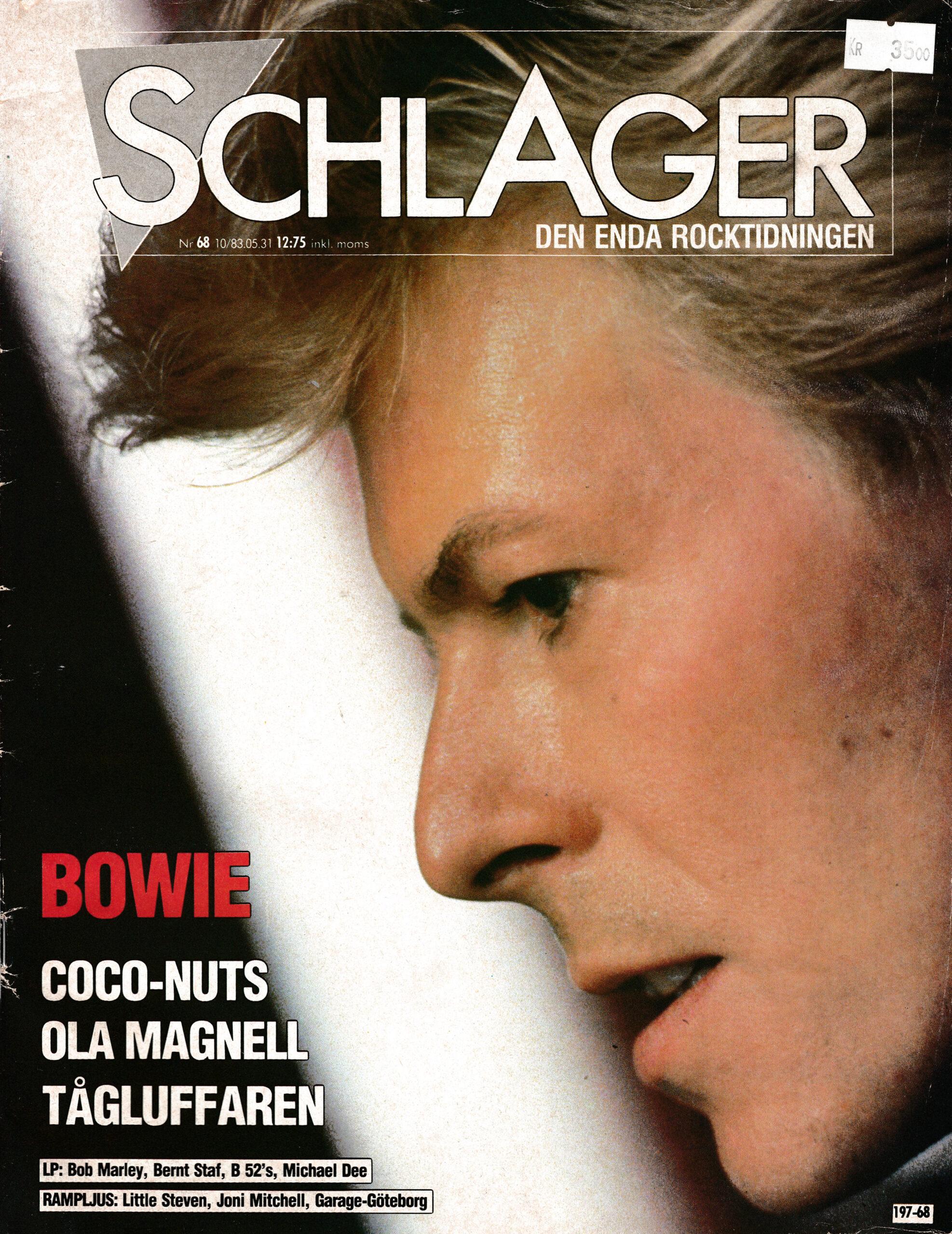 Omslaget till Schlager #068 (1983)