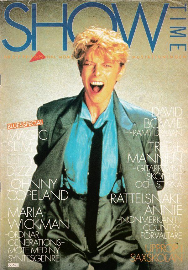 Omslaget till Showtime #1983-6/7
